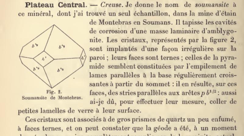 PDF: Minéralogie de la France, de Alfred Lacroix