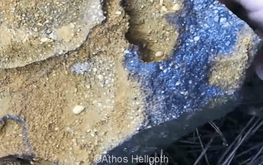 Dossier spécial: les affleurements, roches et indices aurifères en France