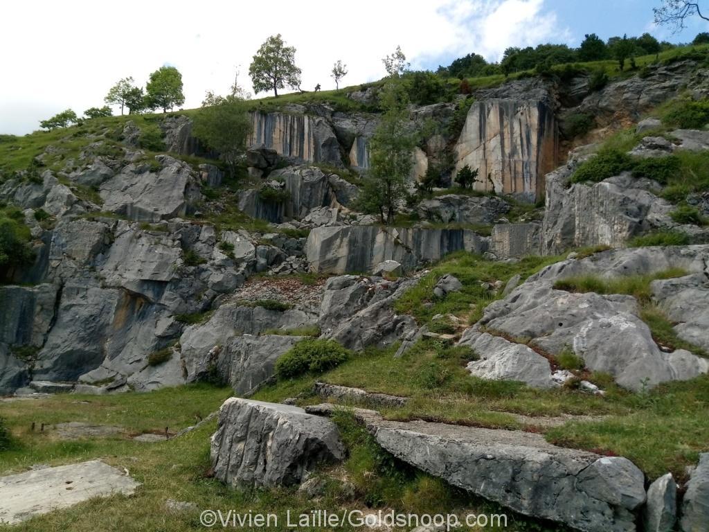 Rando: visite de la Carrière de Marbre d'Uchentein