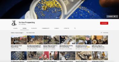 Vidéos: l'orpailleur Vo-Gus Prospecting