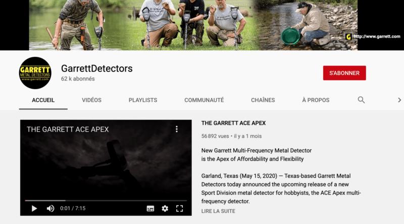 Vidéos: La chaîne Garrett Detectors