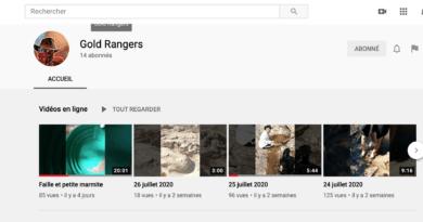 Vidéos: Le chercheur d'or Gold Rangers