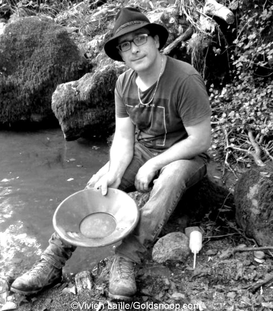 Vivien Laïlle - Prospecteur d'or amateur en France